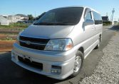 2001 Toyota Granvia For Sale, 3.4 V6 Auto G Cruising Aero Sports 8 Seater MPV, Front View Passengers Side