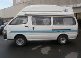 1995 Toyota Hiace 2.8 Diesel Auto 4wd 4 Berth Hi Top Campervan Japanese imports by KV Cars Ltd, side view, passenger side