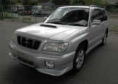 4x4 Japanese imports for sale incl 2001 Subaru Forester 2.0 Auto Turbo Stb Sf5 Awd 4wd Estate For Sale (S57), passenger side view front