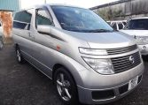 Jap Imports For Sale, 2002 Nissan Elgrand 3.5 V6 Auto 8 Seater MPV (E89), Drivers Side Front