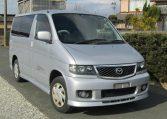 2002 Mazda Bongo 2.0 Auto Aero ERS-V 8 Seater MPV (B55), Front View, Drivers Side. Japanese imports.