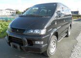 2002 Mitsubishi Delica, 3.0 V6, Auto, 4WD, 20th Anniversary, 7 Seater, MPV (R61), Front View, Passengers Side