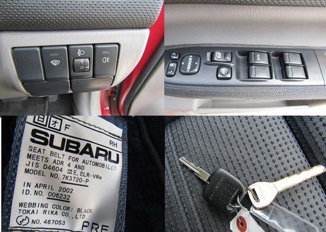 2004 SUBARU FORESTER 2.0 AUTO XT TURBO AWD 4WD ESTATE (S11)   Japanese ...