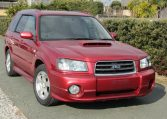 2004 Subaru Forester 2.0 Cross Sports Turbo JDM 4WD Awd Auto Estate (S72), Front View, Drivers Side. Japanese imports.