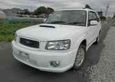 2004 Subaru Forester 2.0 Cross Sports Turbo JDM 4WD Awd Auto Estate (S72), Front View, Passengers Side