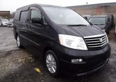 2004 Toyota Alphard 2.4 I Ax Auto 8 Seater MPV (L21), Front View, Drivers Side. Japanese imports.