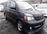 2004 Toyota Voxy 2.0 Auto 8 Seater MPV (V7), Front View, Drivers Side. Japanese imports.
