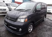 2004 Toyota Voxy 2.0 Auto 8 Seater MPV (V7), Front View, Passengers Side. Japanese imports for sale.