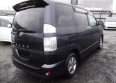 2004 Toyota Voxy 2.0 Auto 8 Seater MPV (V7), Rear View, Drivers Side. Japanese import cars.