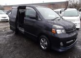 2004 Toyota Voxy 2.0 Auto 8 Seater MPV (V7), Side View, Drivers Side. Japanese car imports UK.