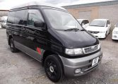 1995 Mazda Bongo 2.5 TD Autofreetop Friendee Auto 8 Seater 4WD MPV, 4 Berth Camper (P80), Front View, Drivers Side, Japanese imports by KV Cars.