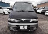 1995 Mazda Bongo 2.5 TD Autofreetop Friendee Auto 8 Seater 4WD MPV, 4 Berth Camper (P80), Front View, Jap imports from KV Cars Ltd.