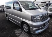 1999 Nissan Elgrand 3.2 TD E50 Auto Highway Star 8 Seater MPV drivers side view, FOR SALE (H94)