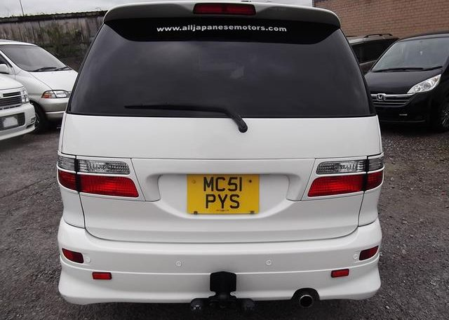 2001 Toyota Estima 2.4 Auto 7 Seater LPG Converted MPV (P28), Rear View
