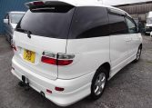 2001 Toyota Estima 2.4 Auto 7 Seater LPG Converted MPV (P28), Rear View, Drivers Side