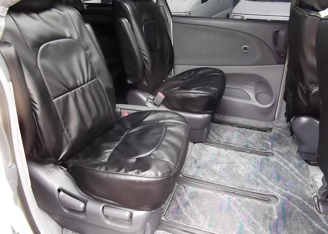 2001 Toyota Estima 2.4 Auto 7 Seater LPG Converted MPV (P28), Interior View Rear Seats