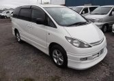 2001 Toyota Estima 2.4 Auto 7 Seater LPG Converted MPV (P28), Front View, Drivers Side, Japanese imports by KV Cars.