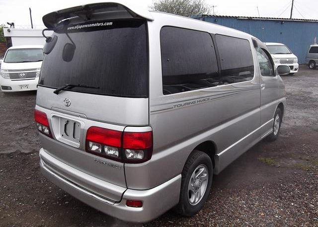 2001 Toyota Touring Hiace 2.7 Auto 8 Seater MPV (F2), Rear View, Drivers Side