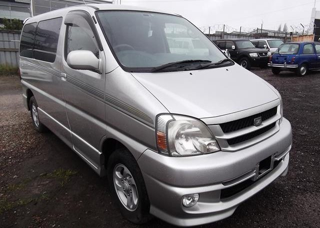 2001 Toyota Touring Hiace 2.7 Auto 8 Seater MPV (F2), Front View, Drivers Side, Japanese imports by KV Cars.