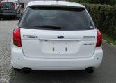 2004 Subaru Legacy 2.0 GT Spec Twin Scroll BP5 Turbo Auto Estate (S38), Rear View. Japanese import cars.