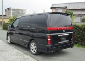 2005 Nissan Elgrand 2.5 V6 Auto ME51 Highway Star 8 Seater MPV (E53)., Rear View, Passengers Side