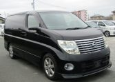 2005 Nissan Elgrand 2.5 V6 Auto ME51 Highway Star 8 Seater MPV (E53)., Front View, Drivers Side, Japanese imports by KV Cars.