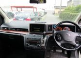 2005 Nissan Elgrand 2.5 V6 Auto ME51 Highway Star 8 Seater MPV (E53)., Interior View Dashboard & Steering Wheel