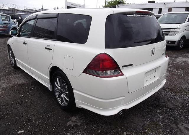 2006 Honda Odyssey 2.4 Ivtec Absolute Auto 7 Seater MPV (H81), Rear View, Passengers Side