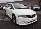 2006 Honda Odyssey 2.4 Ivtec Absolute Auto 7 Seater MPV (H81), Front View, Drivers Side, Japanese imports by KV Cars.