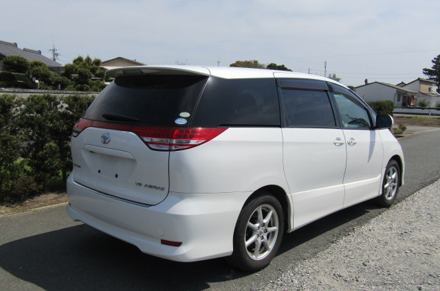 2006 Toyota Estima 3.5 V6 Aeras GSR50 Auto 8 Seater MPV (C2), Rear View, Drivers Side