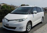 2006 Toyota Estima 3.5 V6 Aeras GSR50 Auto 8 Seater MPV (C2), Front View, Passengers Side, Japanese import cars at All Japanese Motors.