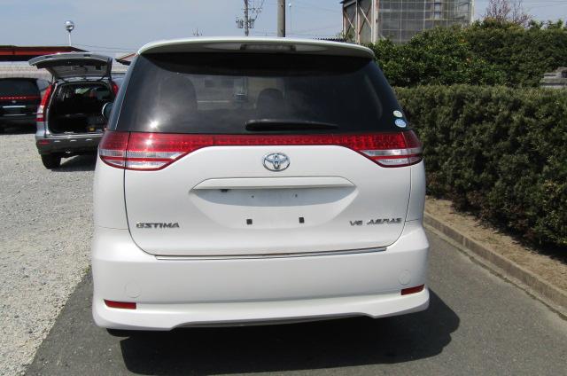 2006 Toyota Estima 3.5 V6 Aeras GSR50 Auto 8 Seater MPV (C2), Rear View