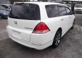 2006 Honda Odyssey 2.4 IVTEC Type M Auto 7 Seater MPV (H74), Rear View, Drivers Side