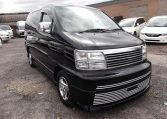 2001 Nissan Elgrand 3.5 V6 Highway Star Auto 8 Seater MPV (E4), Front View, Drivers Side 2.