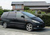 2002 Toyota Estima 2.4 Aeras S Edn Auto 8 Seater MPV (C24), Front View, Drivers Side.
