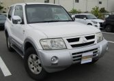 2002 Mitsubishi Pajero 3.5 V6 Gdi Exceed II Auto Optional 4wd SWB 3 DR (R37), Front View, Drivers Side. For Sale in UK.