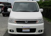 2004 Honda Stepwagon 2.4 Spada 24T Auto 8 Seater MPV (H44), Front View, Jap imports