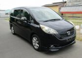 2006 Honda Stepwagon 2.4 Rg3 Auto 8 Seater MPV (H83), Front View, Drivers Side, Japanese imports.
