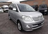 2002 Toyota Noah 2.0 X Disabled Access Electric Chair Auto 7 Seater MPV (A48), Front View, Drivers Side. Japanese imports.