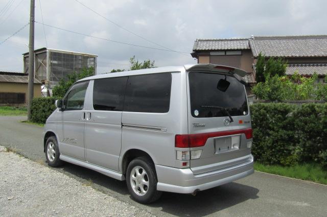 2002 Mazda Bongo 2.0 Aero Rs Auto 8 Seater MPV (B35), Rear View, Passengers Side
