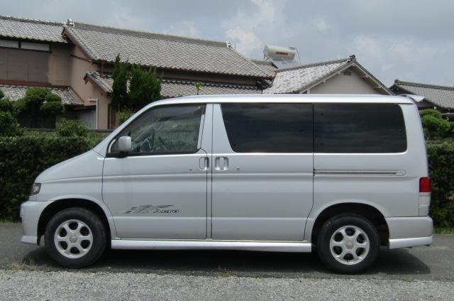 2002 Mazda Bongo 2.0 Aero Rs Auto 8 Seater MPV (B35), Side View, Passengers Side