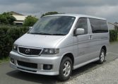 2002 Mazda Bongo 2.0 Aero Rs Auto 8 Seater MPV (B35), Front View, Passengers Side. Japanese imports for sale.