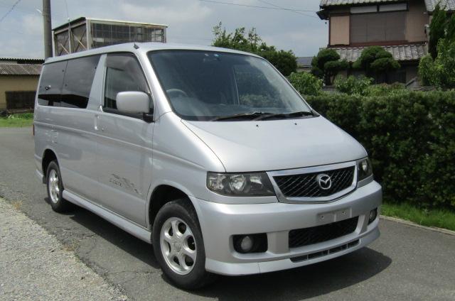 2002 Mazda Bongo 2.0 Aero Rs Auto 8 Seater MPV (B35), Front View, Drivers Side. Japanese imports.