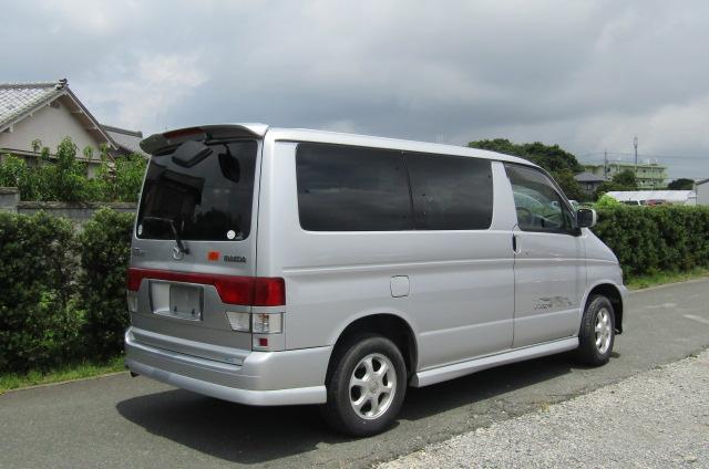 2002 Mazda Bongo 2.0 Aero Rs Auto 8 Seater MPV (B35), Rear View, Drivers Side