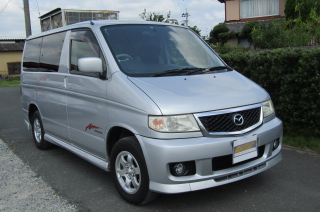 2003 Mazda Bongo 2.0 Sgew City Runner Auto 8 Seater MPV (B74), Front View. Jap imports.