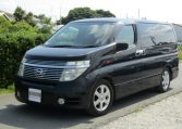 2003 Nissan Elgrand 3.5 V6 Auto Highway Star With Disabled Access Seat With Wheel Chair (A21), Front View, Passengers Side. Japanese imports for sale.
