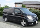 2003 Nissan Elgrand 3.5 V6 Auto Highway Star With Disabled Access Seat With Wheel Chair (A21), Front View, Drivers Side. Japanese imports.