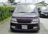 2004 Honda Stepwagon 2.4ivtec 24t RF7 Spada Auto 8 Seater MPV (H55), Front View, Jap imports
