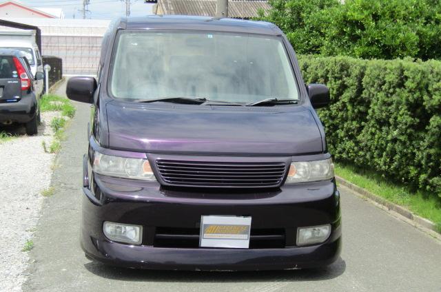 2004 Honda Stepwagon 2.4ivtec 24t RF7 Spada Auto 8 Seater MPV (H55), Front View, Jap imports 1