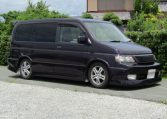 2004 Honda Stepwagon 2.4ivtec 24t RF7 Spada Auto 8 Seater MPV (H55), Front View, Drivers Side, Japanese imports.